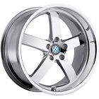 17x8 Chrome Beyern Rapp Wheels 5x120 +15 BMW 5 SERIES 525 528 530 540