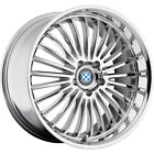 17x8 Chrome Beyern Multi Wheels 5x120 +15 BMW 5 SERIES 525 528 530 540