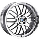 17x8 Chrome Beyern Mesh Wheels 5x120 +15 BMW 5 SERIES 525 528 530 540