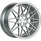 19x10 Silver Klutch KM20 Wheels 5x45 +40 LEXUS SC 430 GS 350 IS F
