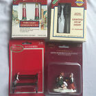 4 Lemax Dickens Collectables Santas Work Bench Xmas Village Figurines