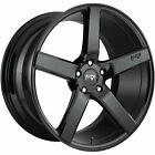 20x10 Black Niche Milan M188 Wheels 5x45 +40 Fits Lexus IS F GS350