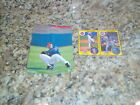 1991 STARTING LINEUP 2 CARD PANEL RYNE SANDBERG + POSTEER INSERT SI CHICAGO CUBS