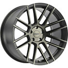 18x85 Black Tint TSW Mosport Wheels 5x425 +40 Fits Jaguar X Type XJ8 X