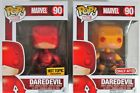 Funko Pop! Daredevil #90 Hot Topic & Target Exclusives Both New in Box