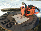 Echo 510 EVL 50cc Chainsaw 20 Inch BarNice Condition Runs Great