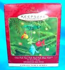 Hallmark Ornament 2000-One Fish Two Fish Red Fish Blue Fish--#2 Dr. Seuss Series