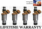 Set of 4 Genuine DENSO Fuel Injectors For 1993 1994 1995 1996 1997 Geo Prizm 16