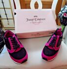 Juicy Couture Athletic Shoes Black/Fushia/Gold Size 7.5