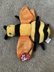 Ty Beanie Babies BUZZIE the Bee Plush Retired Toy 2001 Hang Tags
