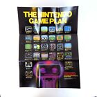 Vintage Now You're Playing With Power Nintendo NES Poster 1987 Rob The Robot