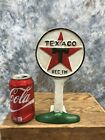 Texaco Doorstop Cast Iron Gas Station Pump Advertising Oil Sign Paperweight b