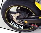 FOR YAMAHA WHEEL DECALS STICKERS X 4 MT YZF R1 R6 M1 Ace R125 MANY COLOURS