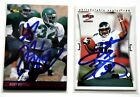 RICKY WATTERS AUTO LOT (2) 1997 Score 1995 Classic Hand-signed Eagles 49ers HOF?
