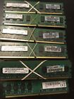 Lot Of 40 Mixed PC2 6400 2GB DIMM 800 MHz DDR2 SDRAM Memory
