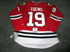 JONATHAN TOEWS Chicago Blackhawks SIGNED Autographed JERSEY w BAS COA Medium