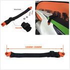 Motorcycle CNC+Nylon 135mm-350mm Adjustable Rescue Pull Bundle Belt Draw Leashes