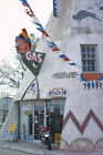 Teepee Amoco Gas Station Lawrence KS Kansas 1977 View 8x12 photo