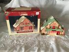 Lemax   Vail Village Village Chalet 1997 Porcelain Lighted Excellent Condition