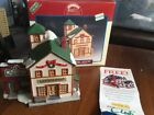 Lemax Jukebox Junction 1998 Laundromat Bud's Appliance Christmas Village NIB