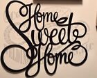 home sweet home metal sign gallery wall art home decor