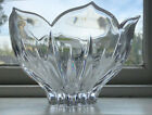 Vintage Leaded Crystal Center Piece Bowl Tulip Shaped