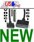 6ft long ULTRA 8mm 68pin VHDCI Centronics 50pin external SCSI Cable Cord Wire