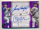 2018 Topps Definitive * SANDY KOUFAX * CLAYTON KERSHAW * Dual On Card Auto #3 5