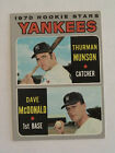Top 10 Thurman Munson Baseball Cards 14