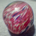 """BB Marbles: 4-Panel Onionskin with Mica. 2-1/8"""". Polished. (M298)"""