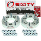 2pc 5x114.3mm To 5x139.7mm Wheel Spacers Adapters 1.25 For Mazda B2500 Fn