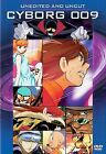 Cyborg 009 Uncut and Unedited DVD 2004 2 Disc Set Widescreen Uncut Anime