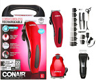 Men's Cordless Hair Clippers Wireless Beard Trimmer Barber Grooming Haircut Kit