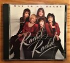 Rachel Rachel - Way To My Heart CD (Christian Hard Rock) Dan Huff RARE - OOP