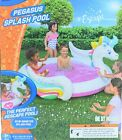 Pegasus Unicorn Banzai Inflatable Swimming Kiddie Splash Pool