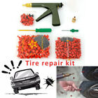 Car Tire Plugger Tubeless Tire Wheel Repair Gun w/Plugs Rubber Mushroom Plugging