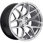 19x95 Silver Ground Force GF9 Wheels 5x112 +40 Fits Bentley Continental