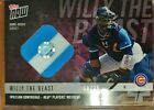 WILLSON Beast CONTRERARS 2018 Topps Now Players Weekend RELIC Purple Card 08 25