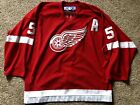 Authentic On Ice Nicklas Lidstrom Red Wings Jersey Reebok