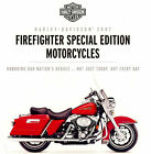 2007 HARLEY-DAVIDSON FIREFIGHTER FLHR ROAD KING & FLSTC SOFTAIL BROCHURE CARD