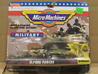 1991 Galoob Micro Machines Military Collection Flying Forces Collection 2 NIP