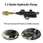 1X Rear Foot Hydraulic Clutch Master Cylinder Brake Pump For Motorcycle ATV