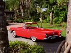 1957 Ford Thunderbird OWNED 24 YRS FORD POLARAIRE A C  FACTORY INVOICE WORLD CLASS RESTORATION POWER WINDOWS SEAT BRAKES BOTH TOPS 122 PHOTOS