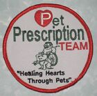 Pet Prescription Team Patch Healing Hearts Through Pets 3 1 2 x 3 1 2