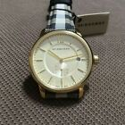Burberry Gold-Tone Unisex watch BU10001, Size: 40 MM, stainless steel