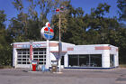Amoco Gas Service Station Pumps Sign Magnolia Arkansas 1979 View 8x12 photo