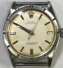 Rare Vintage Rolex Oyster Perpetual Explorer Dial Turned Bezel Mens Watch