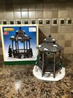 Lemax Winter Gazebo Surrounded by Trees & Animals Ceramic Village Accessory