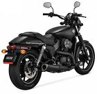 VANCE  HINES COMPETITION SERIES SLIP ON EXHAUST HARLEY DAVIDSON 500 750 STREET