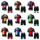 Men Pro Team Countrys Cycling Jersey Set Riding Bike Clothing Suit Bicycle Wear